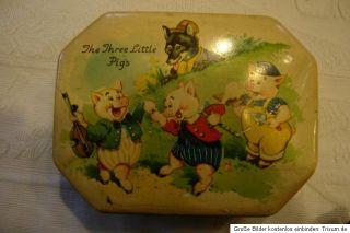 Blechdose,The Three Little Pigs, Drei kleine Schweine, absolutes