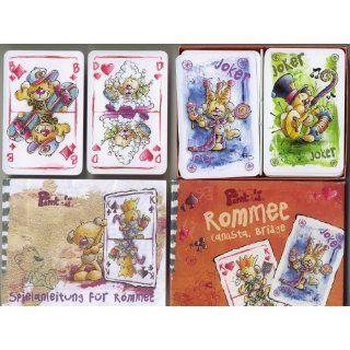 Pimboli Rommee, Canasta, Bridge: Spielzeug