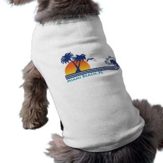 Miami Beach Doggie T shirt