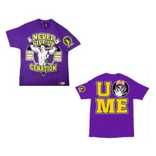 Original WWE Shirt John Cena  Cenation  purple Gr. M