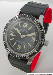Ruhla Taucheruhr Uhr Herrenuhr men gents diver watch