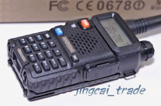 This is original BaoFeng UV 5R Dual Band VHF/UHF transceiver. 100% new