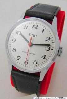 Etic Sammler Uhr Herrenuhr Armbanduhr vintage men gents wristwatch