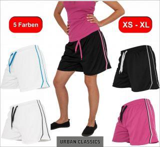 Urban Classics Ladies Mesh Shorts / Short Damen Pant Hotpant kurze