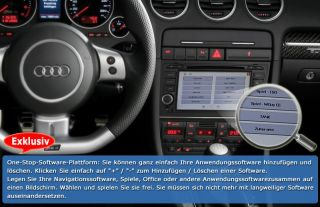 Autoradio DVD GPS NAVI USB Bluetooth für Audi A4 S4 RS4 8E 8F B9 B7