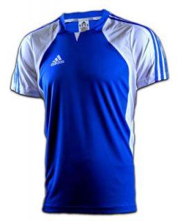 Adidas TEAM Trikot T Shirt blau weiß XS S M L XL XXL Climacool
