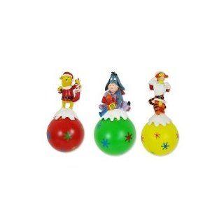 3er Set Weihnachtskugeln Disney Winnie Pooh Iaah Tigger Figuren