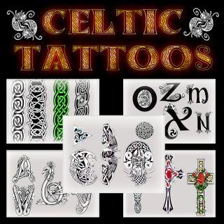 200 Celtic   Keltische   Tattoo Vorlagen inklusive CD Versand