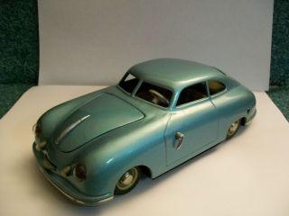 JNF Prototyp Electric Porsche 356 Coupe Toy Car   VERY RARE