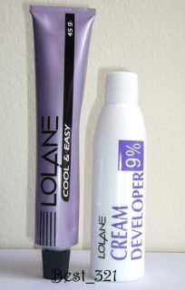 LOLANE Light Brown Permanent Hair Color Cream