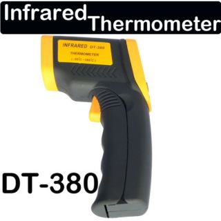 Wireless LCD IR Laser Point Infrared Thermometer DT380  50 380C