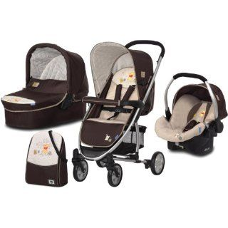 Hauck 142174 Kinderwagenset Malibu All in One inkl. Wanne, Zero Plus