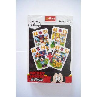Disney Mickey Mouse & Friends Quartett Kartenspiel