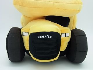 KOMATSU Plush Dump truck HD605 Cushion Japan
