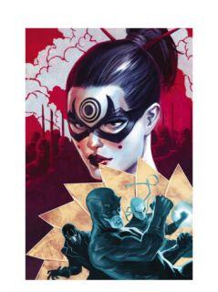 Daredevil #112 Cover Daredevil and Lady Bullseye Prints