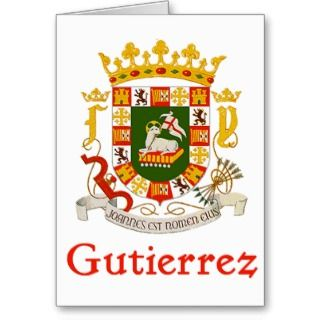 Gutierrez Shield of Puerto Rico Card