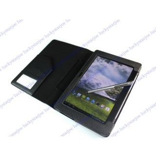 Triple Folio Case Cover Stand For Asus Padfone Station + Stylus Pen