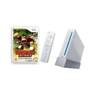 Nintendo Wii Konsole weiß/silber inkl. Donkey Kong Jet