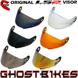 Getöntes Farbiges Integralhelm Motorradhelm Visier LS2 FF386 FF370