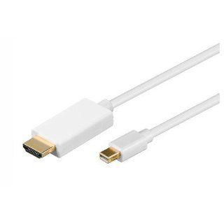 mrtech Mini Displayport auf HDMI Adapter Kabel 1,8m
