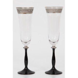 Bohemia Cristal Sektglas, Sektkelch, Champagnerglas Angela 190 ml, 6