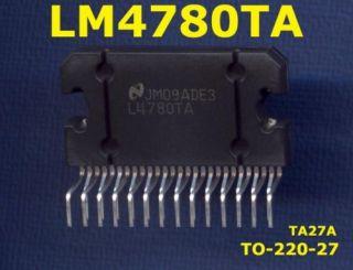 LM4780TA LM4780 Overture™ Audio Power Amp.2x60W / 120W
