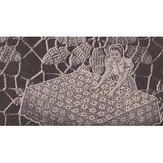 Vintage Crochet Lace Tablecloth Motif Pattern EBook Download eBook