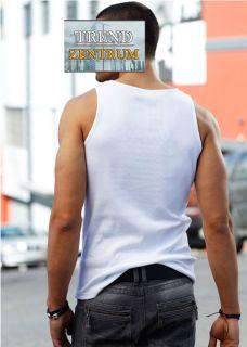 Cooles Herren Shirt Tanktop Gr. 56 / 58 XL Muskelshirt Rippshirt NEU