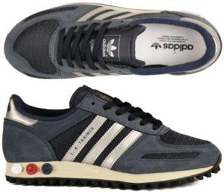 Adidas Originals LA Trainer navy/silver/ruby zx 500 380 blau
