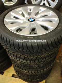 BMW 1er F20 225/45 17 Zoll Alufelgen Winterreifen Winterräder Dunlop