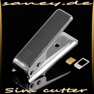Micro sim Card CUTTER + ADAPTER microsim iPhone 4 S/G Sim Karte COM 19