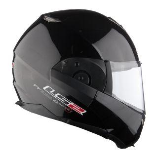 CASCO MOTO MODULARE LS2 FF393.1 CONVERTIBLE BLACK