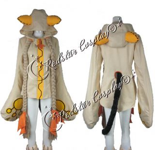 Blazblue Calamity Trigger Taokaka cosplay costume   Custom made in Any