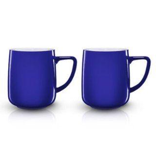 Tchibo Kaffee Becher 2er Set blau designed by Conran