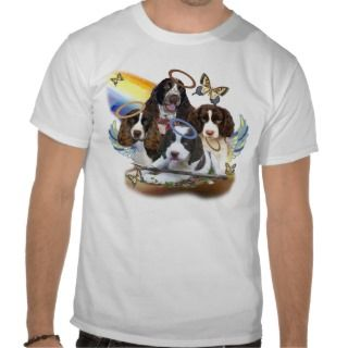 English Springer Spaniel Perfect Angel Gifts Tshirt