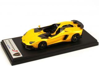 43 Lamborghini Aventador J giallo orion yellow gelb   Looksmart
