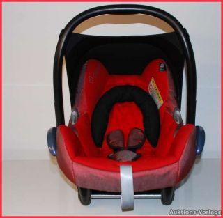Wunderschöner Maxi Cosi CabrioFix Red Flame Reflection♥für
