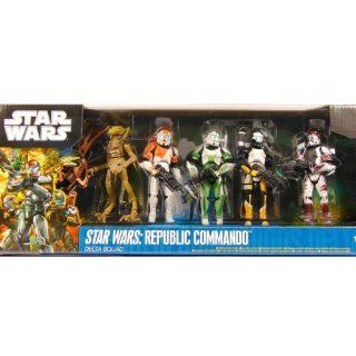 Star Wars Collector Set Republic Commando Delta Squad von Hasbro