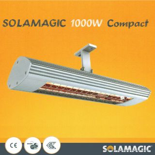 SOLAMAGIC 1000W Compact caravan camping awning patio Infrared radiant