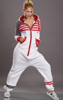 Overall Stars and Stripes American Flag Weiß oder Schwarz Gr. S,M,L