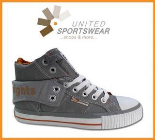 BK British Knights Schuhe Sneaker Roco Grau Braun Grey UVP 54,95 div
