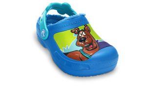 gefüttert Kids Scooby Doo Lined Custom Clog Blau 12736 408