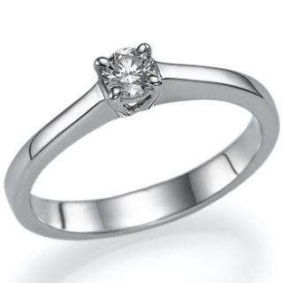 30ct Round Brillant Diamant Ring Solitaer Weissgold Verlobungsringe