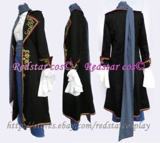 Vocaloid Kaito Sandplay Singing of Dragon Cosplay Costume   Made in