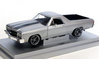 Chevrolet El Camino SS396 silber / silver Tuning Umbau Budnik Felgen 1