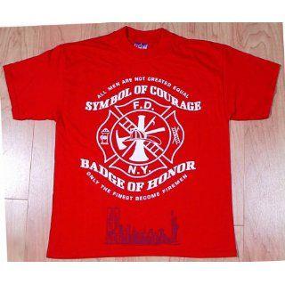 Shirt mit FEUERWEHR Motiv   FDNY   Fire Department of New York   mit