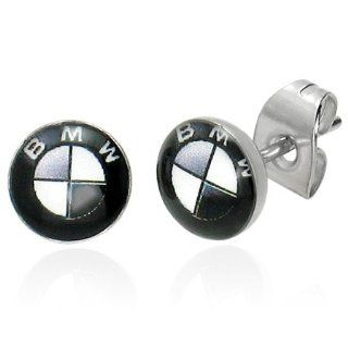 The Stainless Steel Jewellery Shop   7mm BMW   Ohrstecker Ohrringe