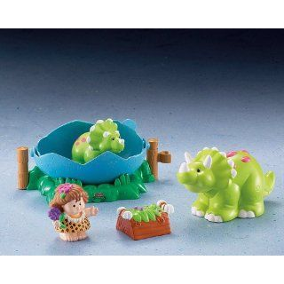 Fisher Price Little People J4426 0   Sarah Dino Spielzeug