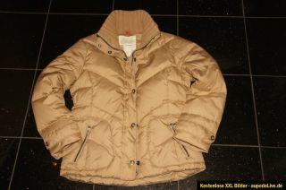 Jacke Daunen ESPRIT Winterjacke grün 36S schwarz tdBshrQCx