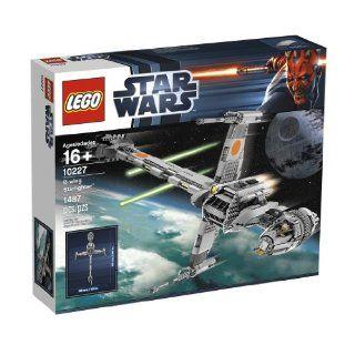 LEGO 7180 Star Wars B Wing & Rebellenkontrol. Spielzeug